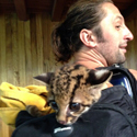 Anton attempts to steal a baby ocelot