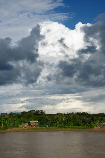 a settlement in the Peruvian Amazonas